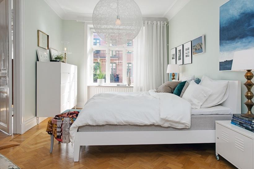 скандинавский стиль +в интерьере спальни