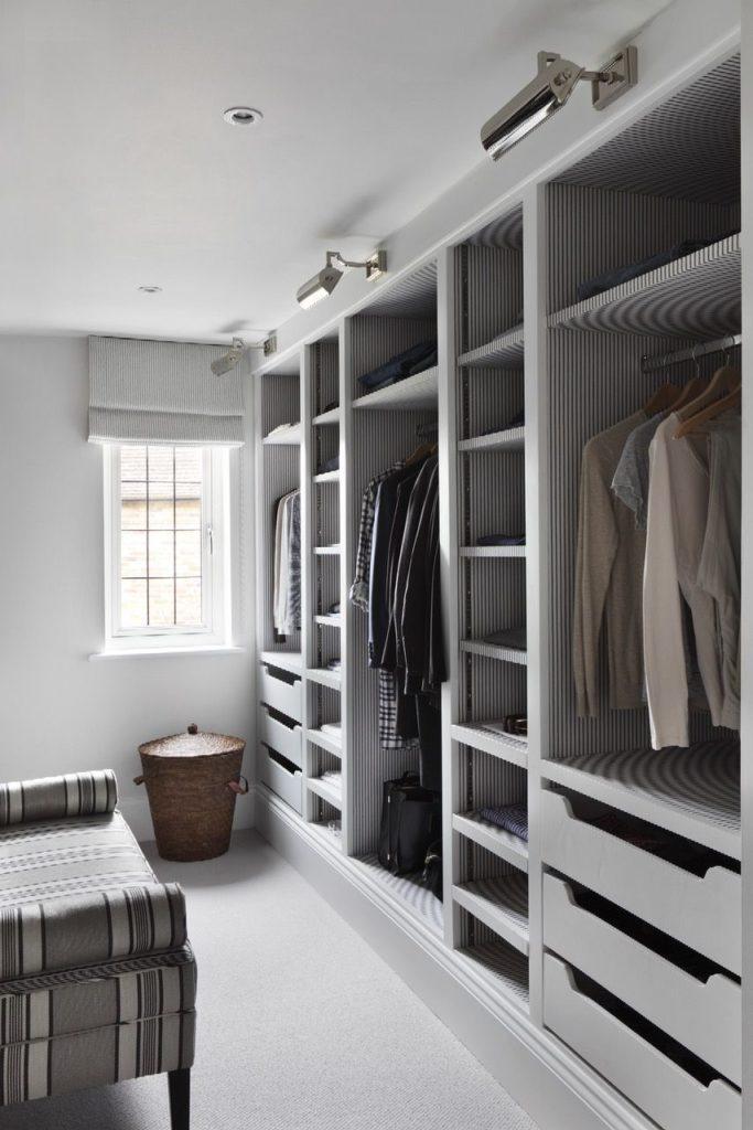 гардеробная в квартире дизайн