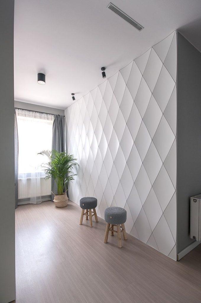 отделка стен внутри дома