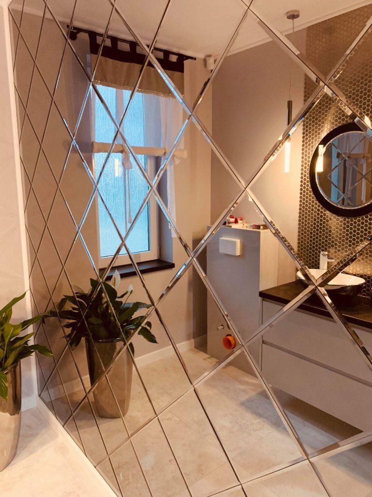 декоративные зеркальные плитки