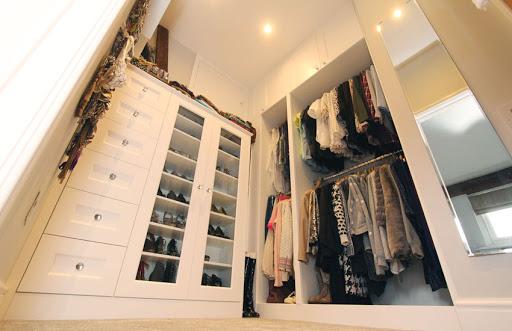 дизайн маленькой гардеробной