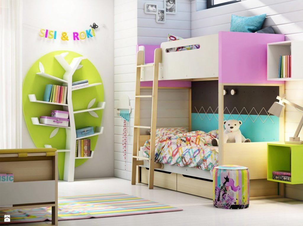 дизайн детской для мальчика и девочки