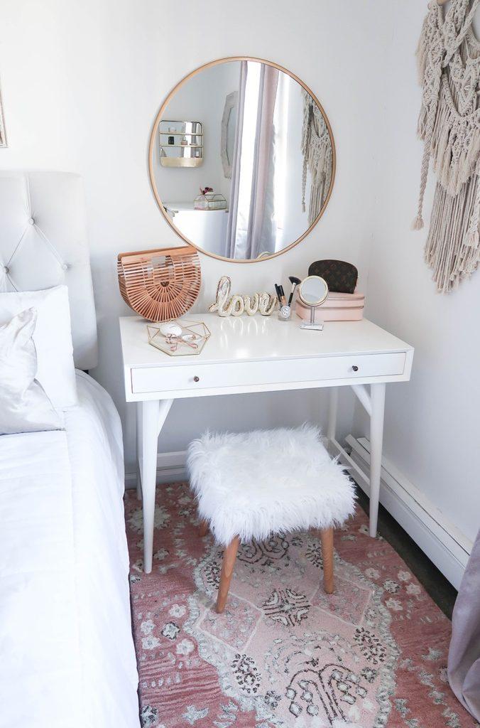 туалетные столики с зеркалом для спальни