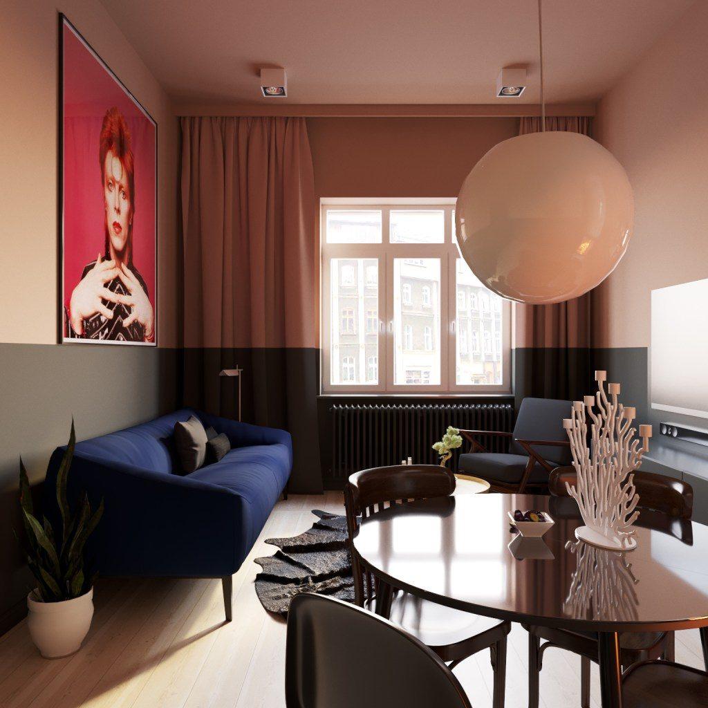 каким цветом покрасить стены в комнате