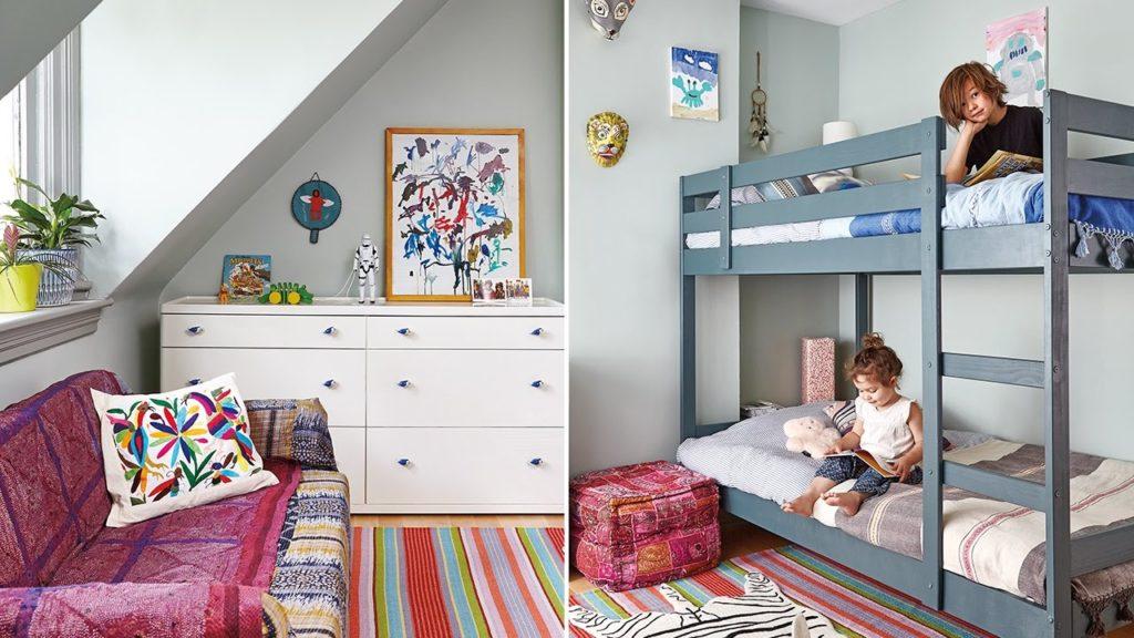 детские кровати мальчику и девочке