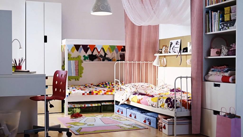 интерьер детской для двоих