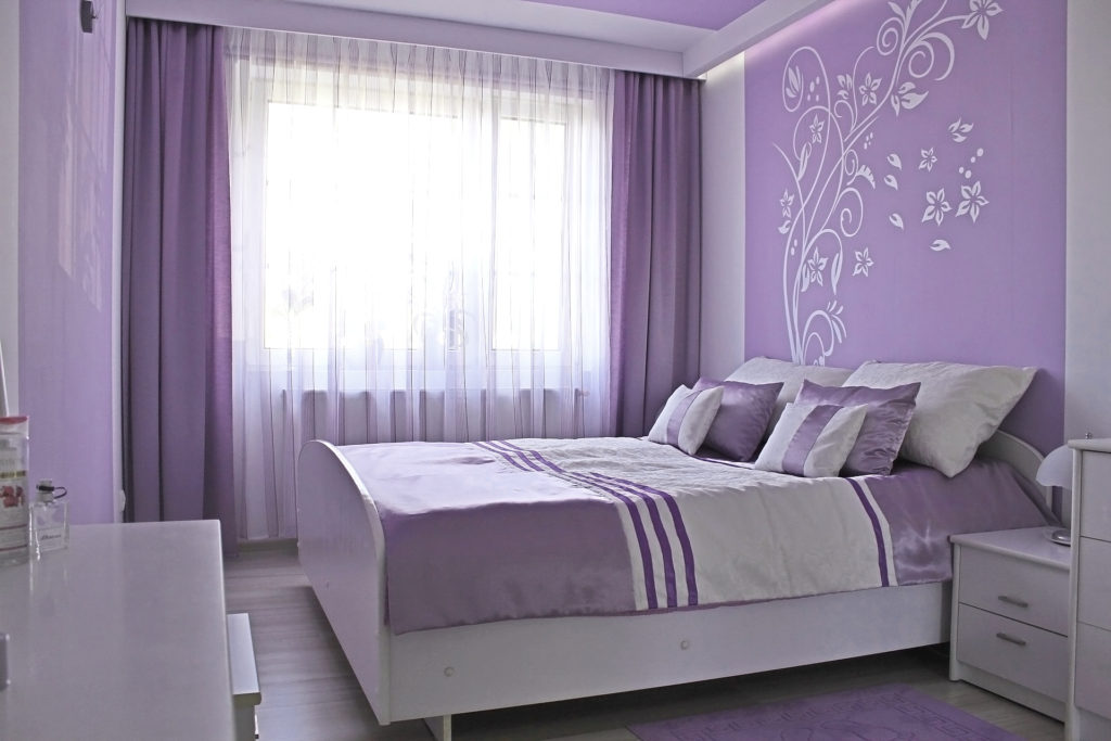 сочетание цветов +в спальне