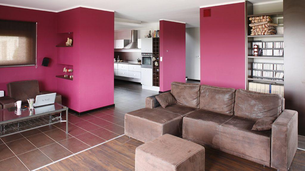 покраска стен каким цветом