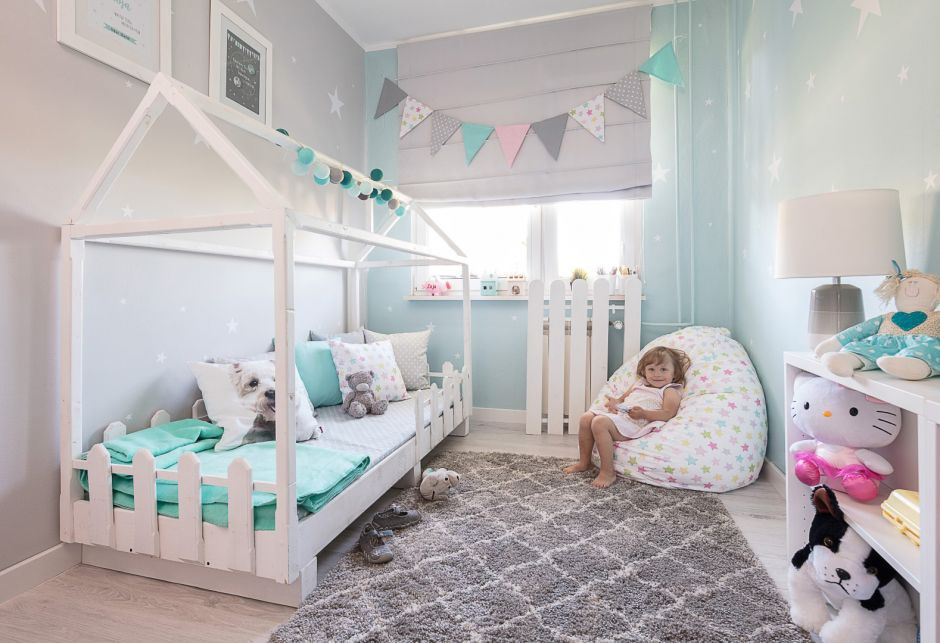 маленькая уютная детская комната