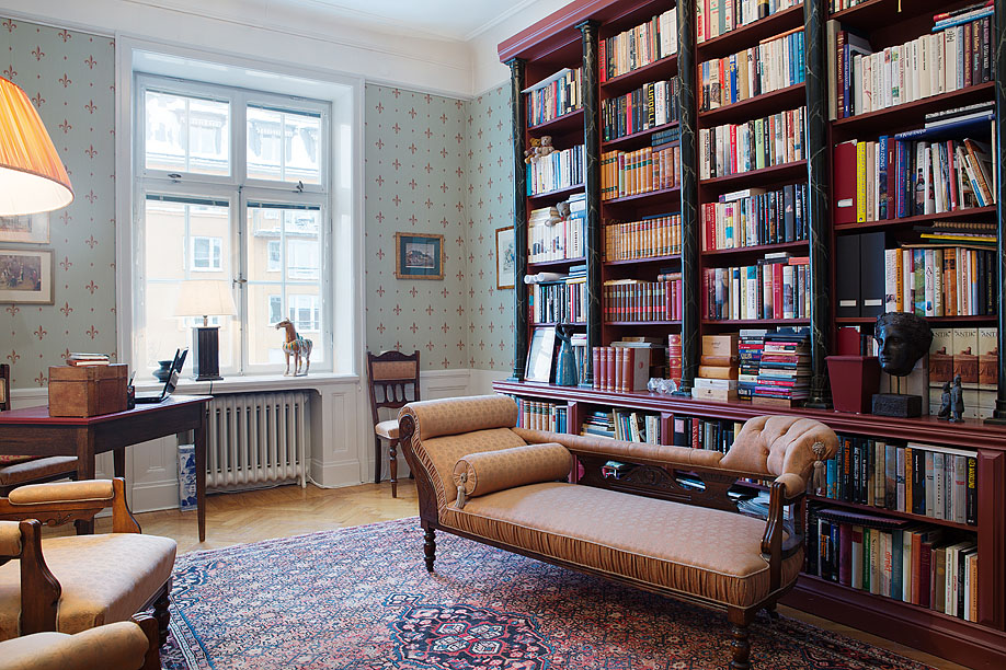 домашняя библиотека фото