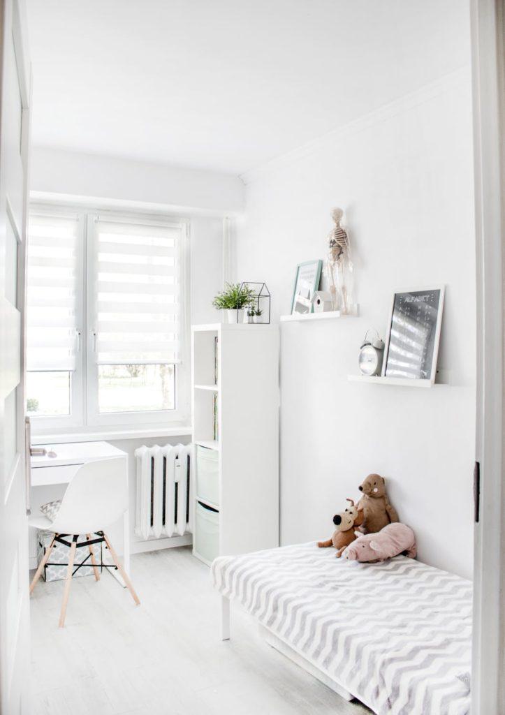 детская комната маленького размера