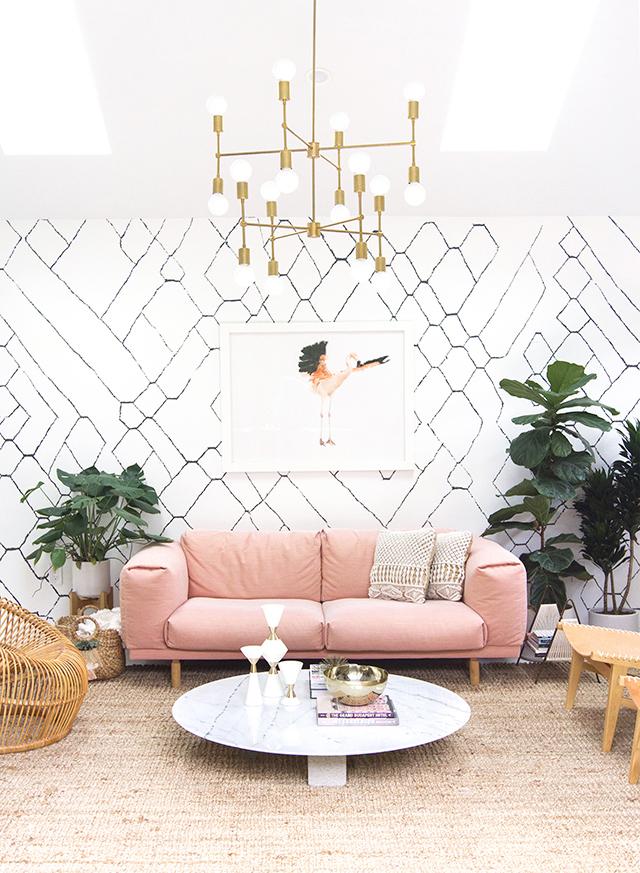 диван розовый икеавс333