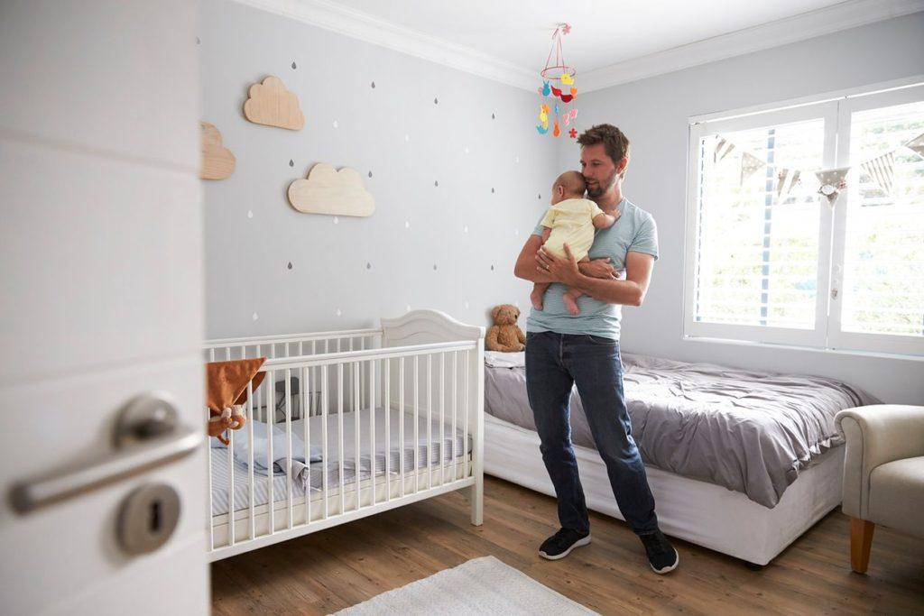 новорожденный мебель