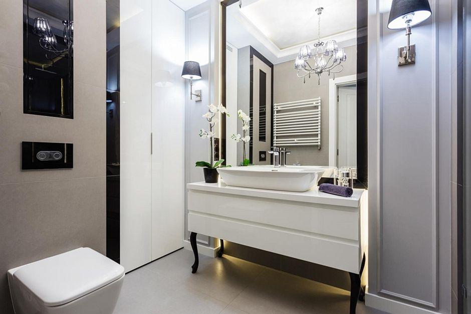 навесное зеркало в ванную