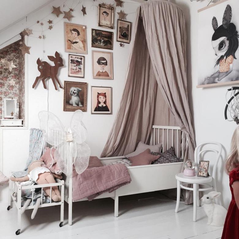 красивые комнаты для девочек