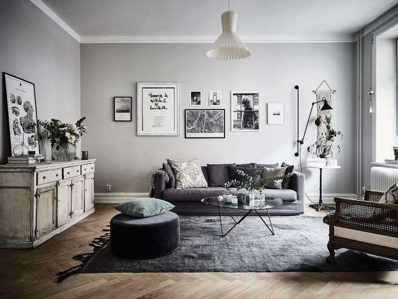покрашенная комната фото
