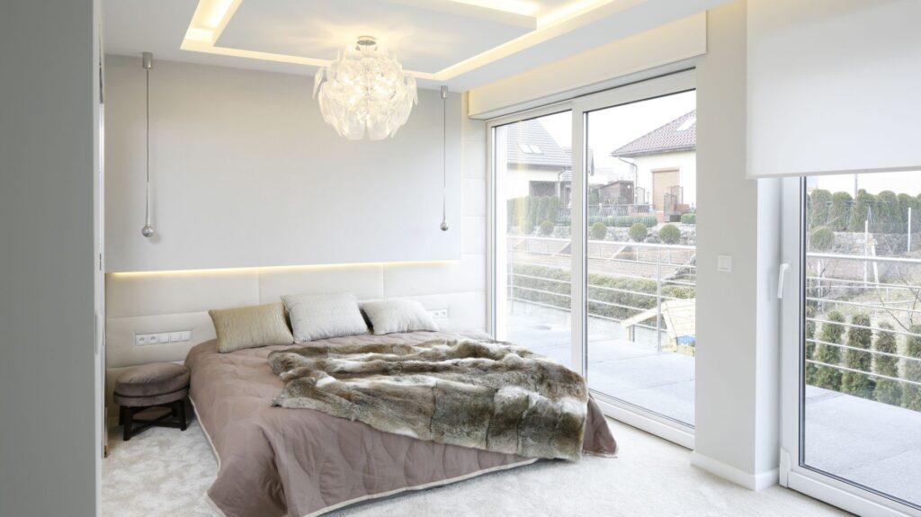 интерьер спальни фен шуй