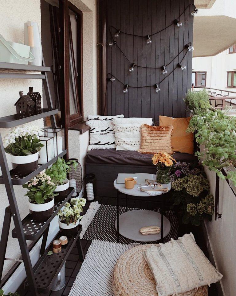 как красиво сделать балкон