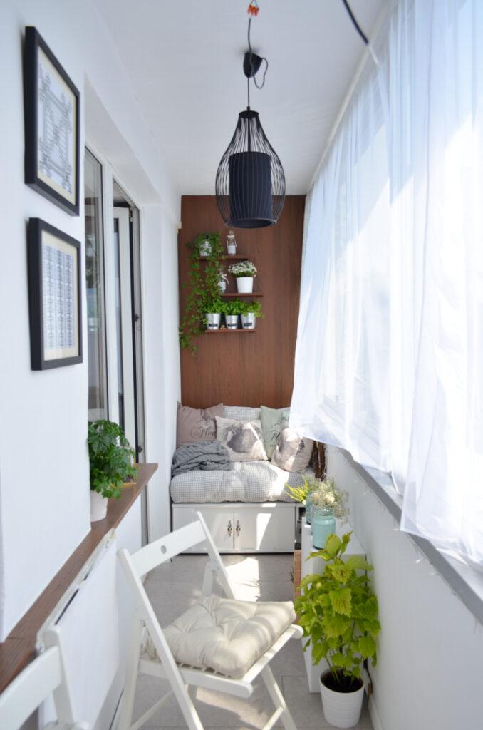 как красиво оформить балкон
