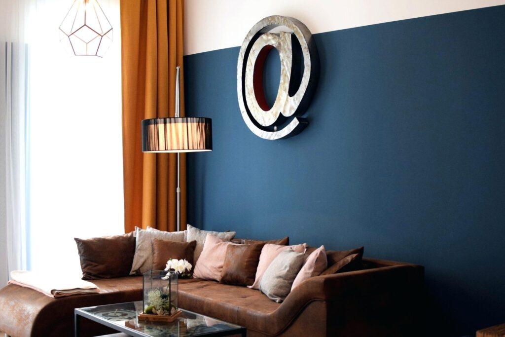 цвет гостиной в доме