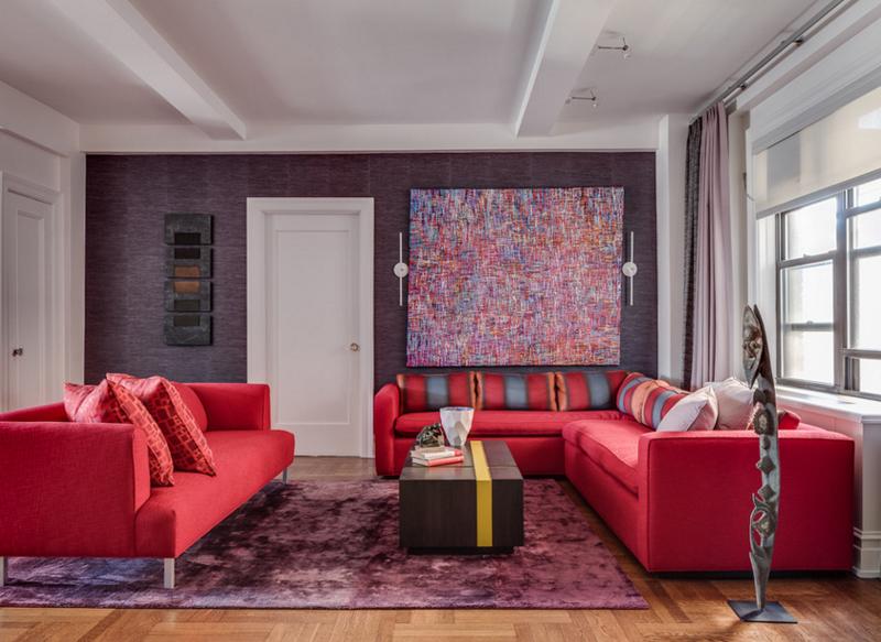 в какой цвет покрасить гостиную
