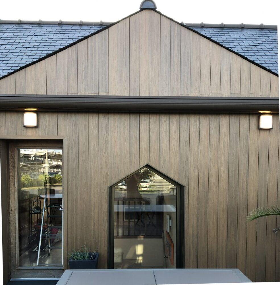 фасады деревянного дома снаружи