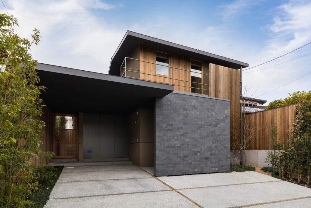 проекты домов с плоской крышей до 150