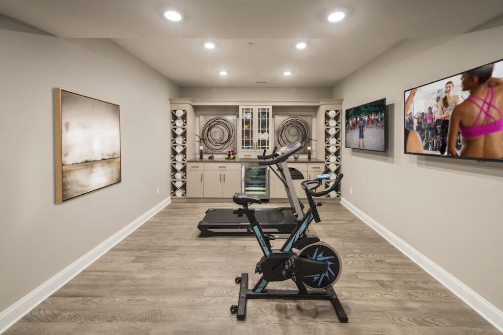 тренажерный зал в домашних условиях