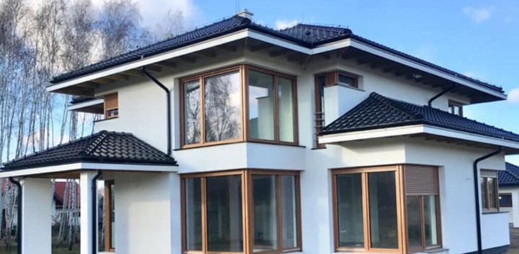 угловое окно дизайн