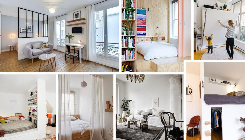 проекты спален гостиных
