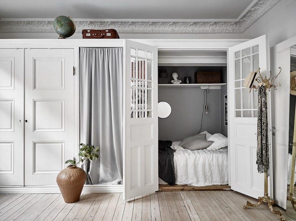 дизайн спальни гостиной кв
