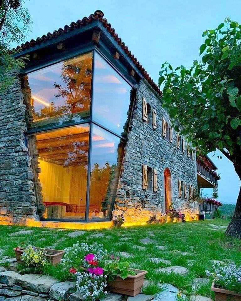 частные каменные дома