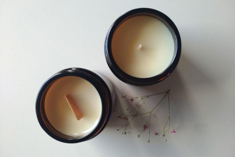 как делать свечи из соевого воска