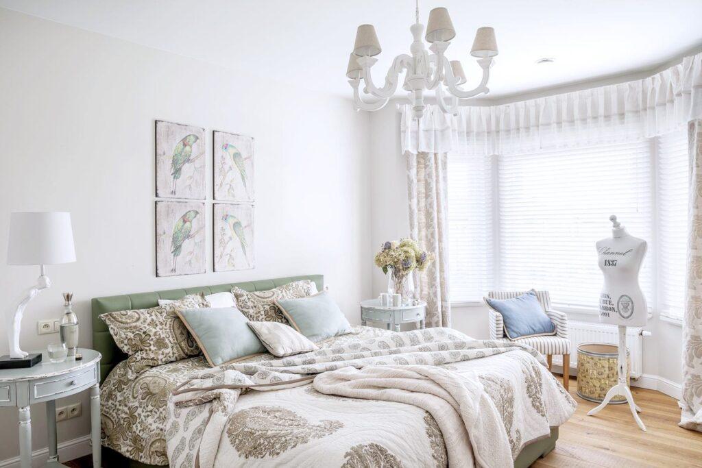 белая спальня икеа