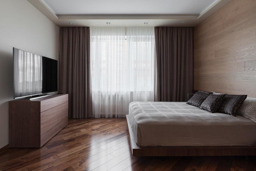 где поставить кровать
