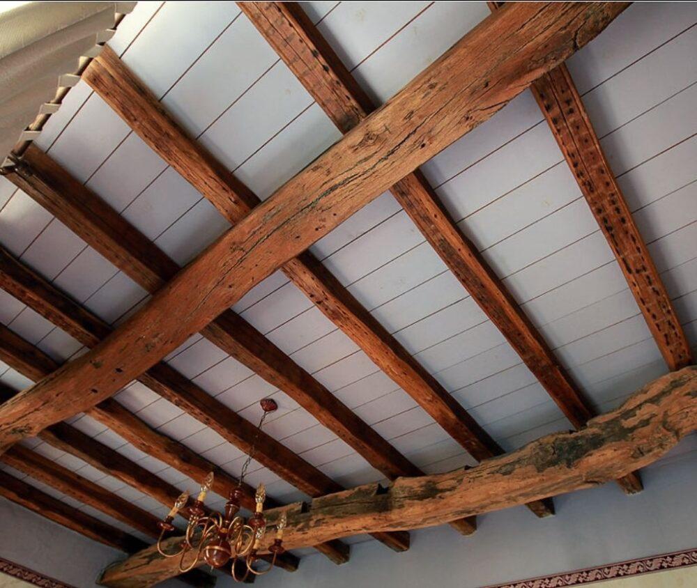 перекрытие этажа деревянными балками