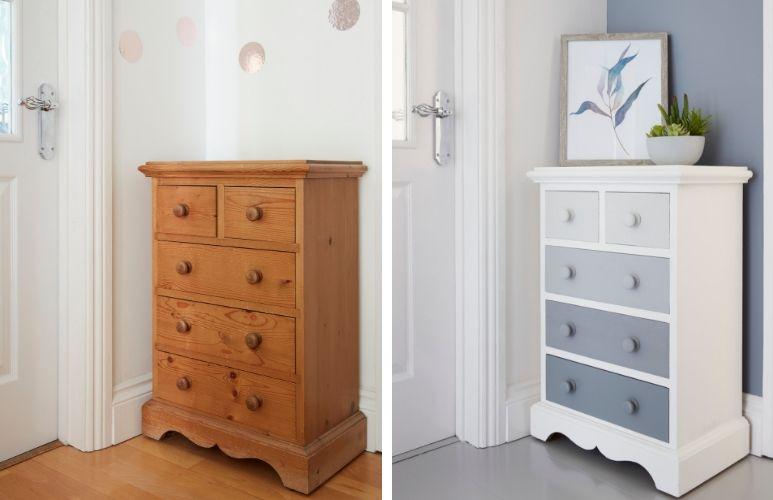 Как перекрасить в белый цвет мебель в домашних условиях