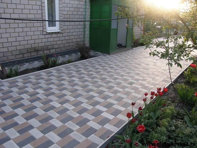 варианты тротуарной плитки
