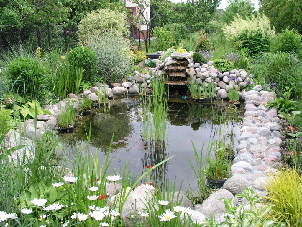 как сделать искусственный пруд