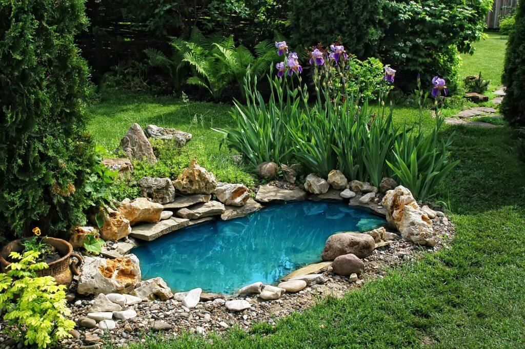 пруд искусственный водоем