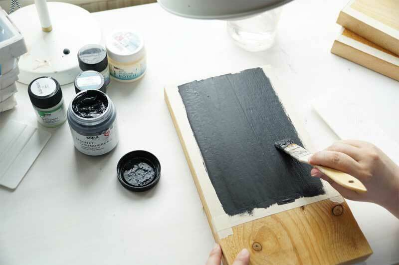 краска черная магнитная