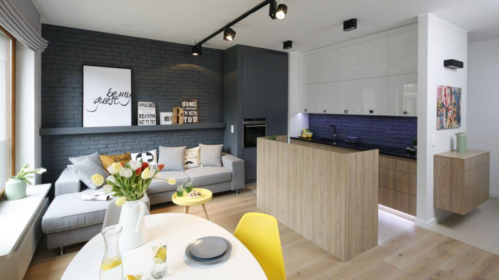 кухня гостиная в доме