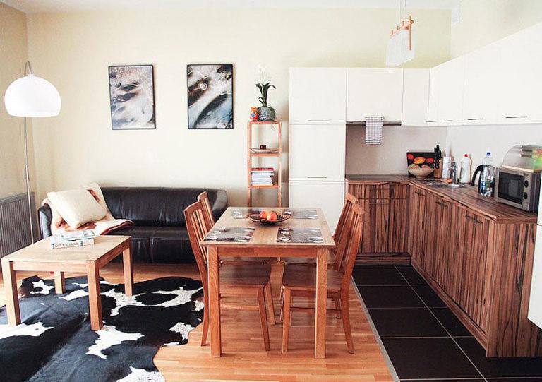 кухня гостиная 20 кв