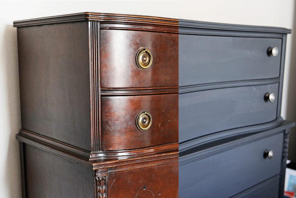 как покрасить мебель в домашних условиях