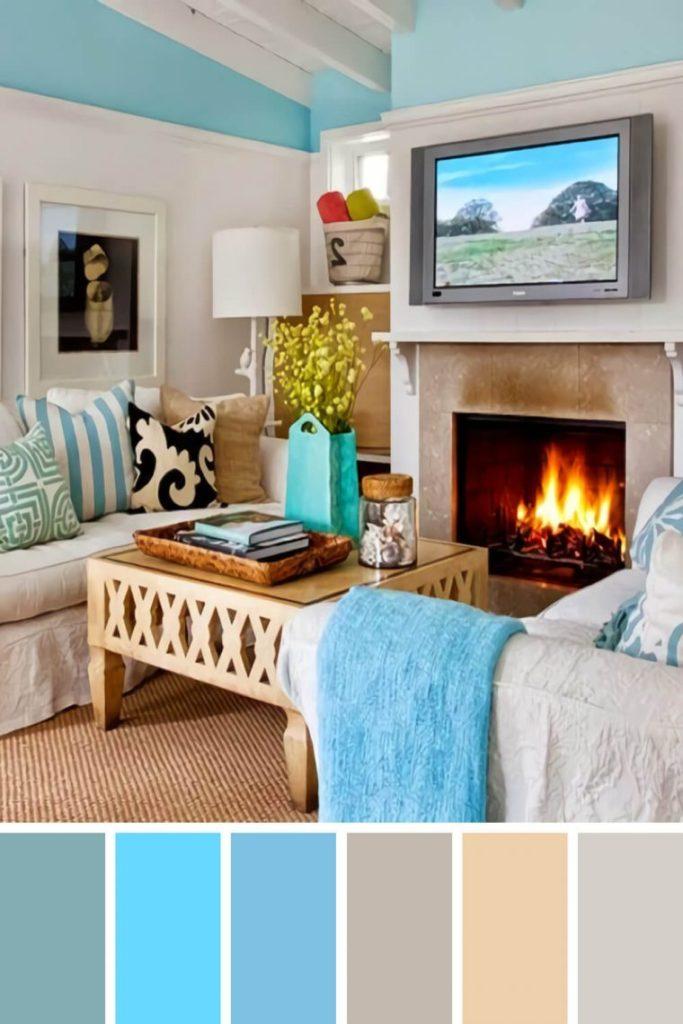цвета диванов в интерьере гостиной