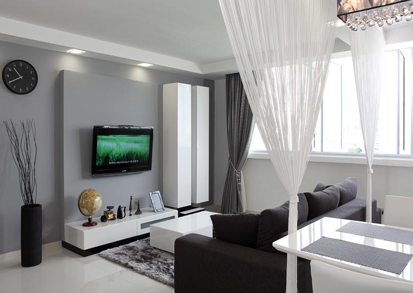 гостиные серые дизайн фото
