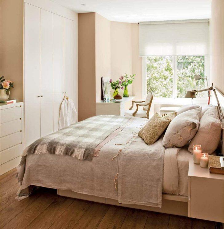 спальня в бежево коричневых тонах