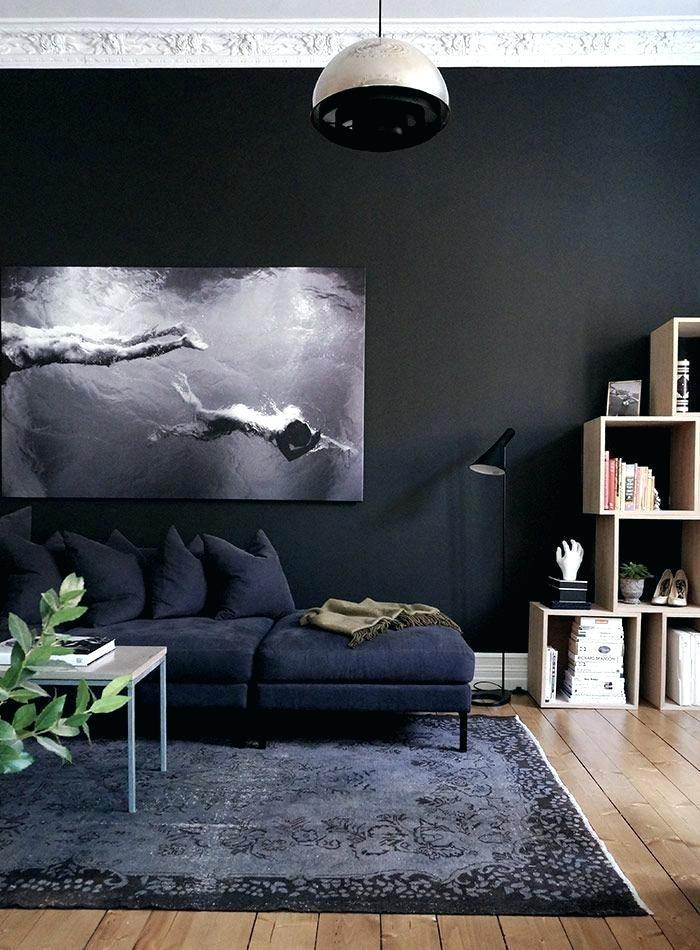 дизайн темного зала