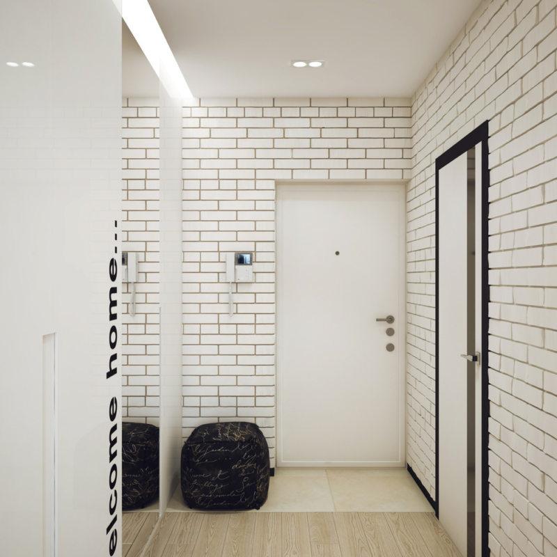 обои коридор квартира