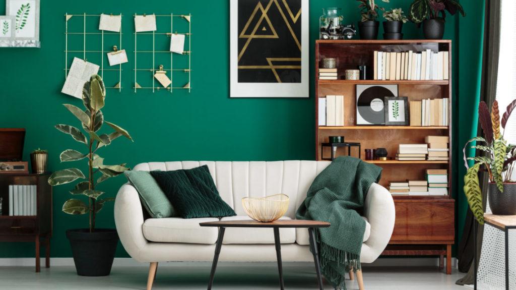 дизайн с зеленым цветом